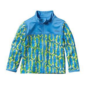 ベビー・リトル・ソル・ラッシュ・ジャケット, Batik Fish: Skipper Blue (BASB)