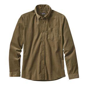 M's Long-Sleeved Bluffside Cord Shirt, Dark Ash (DKAS)