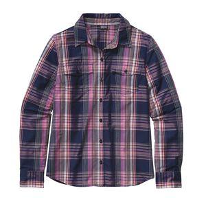 W's Long-Sleeved Overcast Shirt, Ventana: Mock Purple (VTMP)