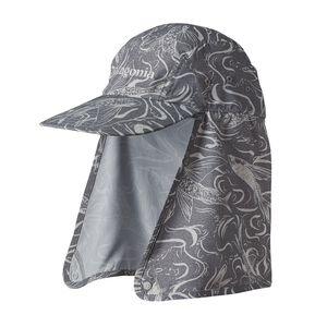 ビミニ・ストレッチ・フィット・キャップ, Fish Splash: Tailored Grey (FSTG)