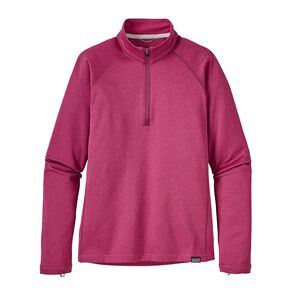 Girls' Capilene® Heavyweight Zip-Neck, Craft Pink (CFTP)