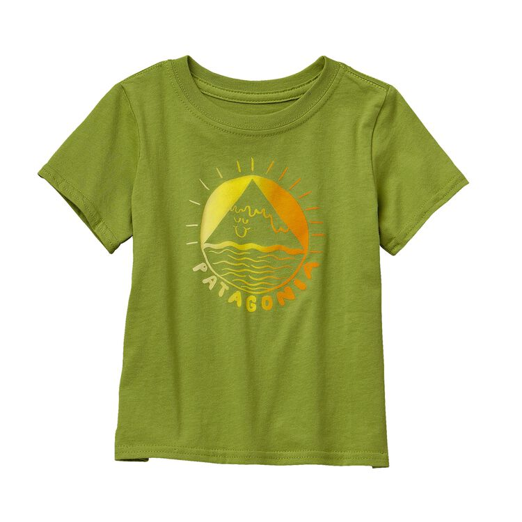 BABY GRAPHIC COTTON T-SHIRT, Supply Green (SPYG)