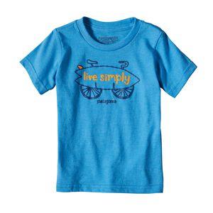 ベビー・グラフィック・オーガニックコットン/ポリ・Tシャツ, Radar Blue (RAD)
