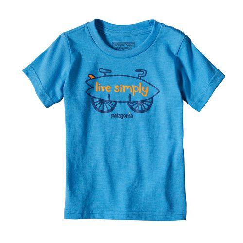 ベビー・グラフィック・コットン/ポリ・Tシャツ, Radar Blue (RAD)