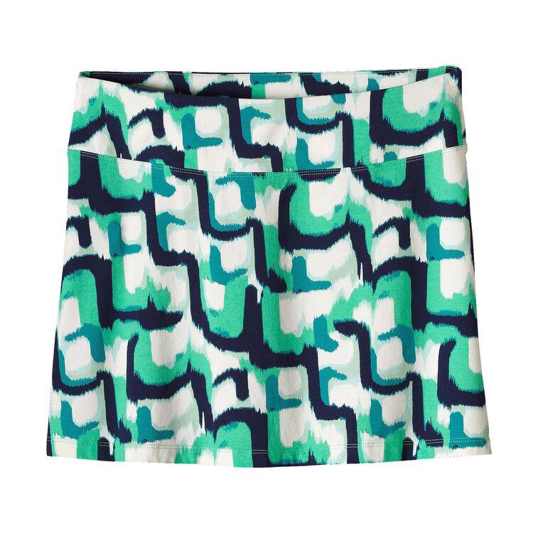 ウィメンズ・タイダル・スカート, Zari Skirt: Desert Turquoise (ZDTQ-382)