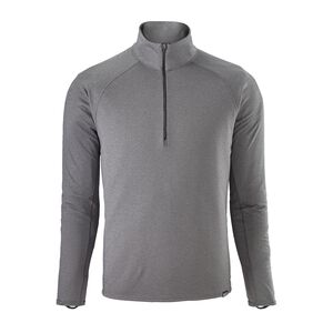 M's Capilene® Midweight Zip-Neck, Forge Grey - Feather Grey X-Dye (FGX)