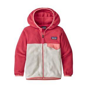 Baby Micro D™ Snap-T® Fleece Jacket, Pearl (PRL)