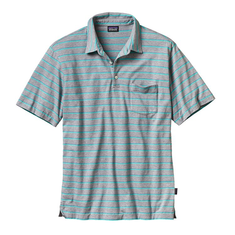 M'S SQUEAKY CLEAN POLO, Daybreak: Drifter Grey (DYDG)