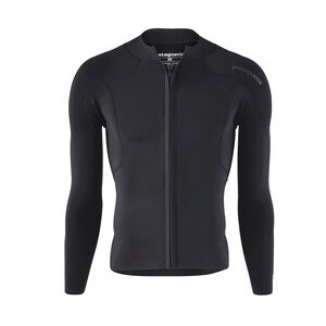 M's R1® Lite Yulex™ Front-Zip Long-Sleeved Top, Black (BLK)