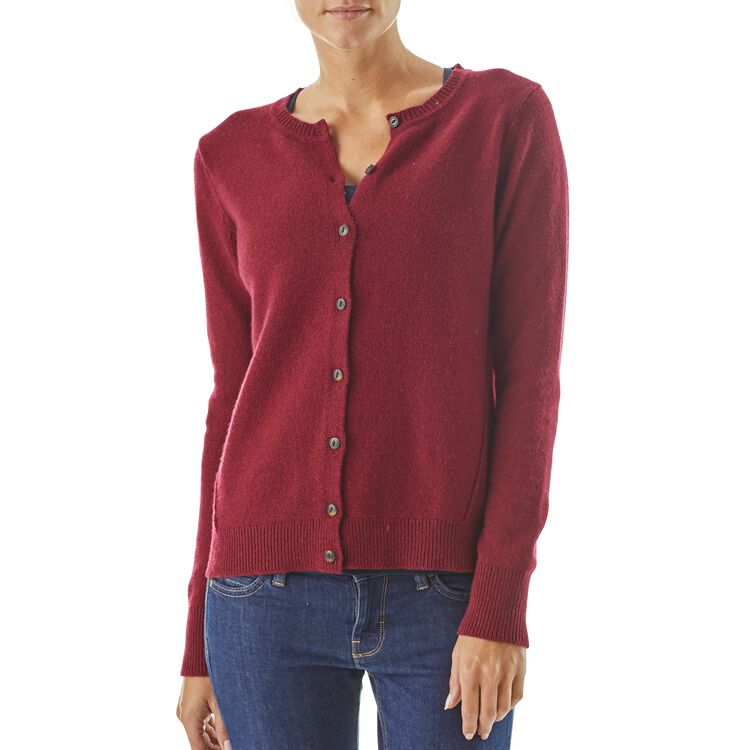 W's Recycled Cashmere Cardigan,