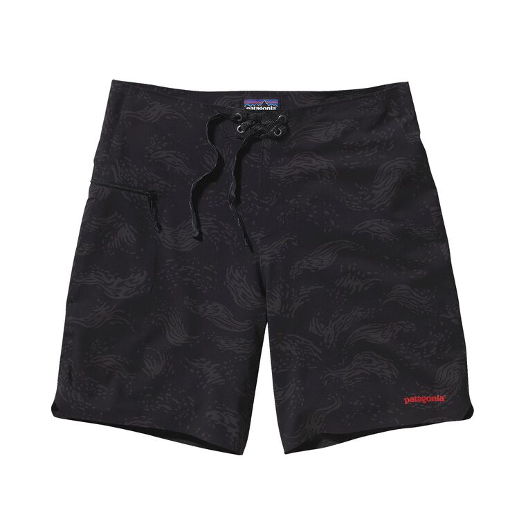 M'S HYDRO PLANING STRETCH BOARD SHORTS -, Merchant: Black (MCBK)