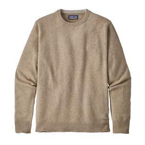 メンズ・リサイクル・カシミア・クルーネック・セーター, Mojave Khaki (MJVK)
