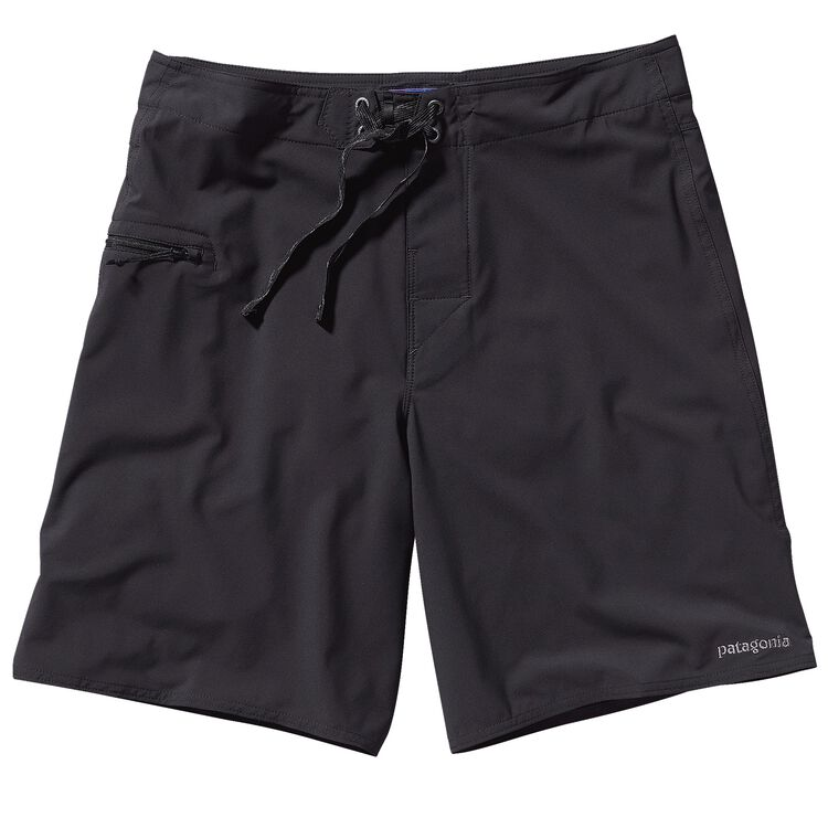 M'S PLANING STRETCH BOARD SHORTS - 20 IN, Black (BLK)