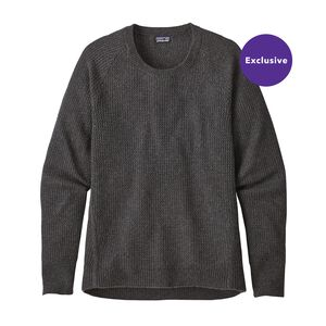 W's Recycled Cashmere Crew, Forge Grey (FGE)