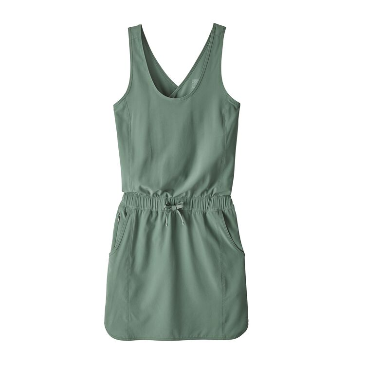 W'S FLEETWITH DRESS, Pesto (PST)