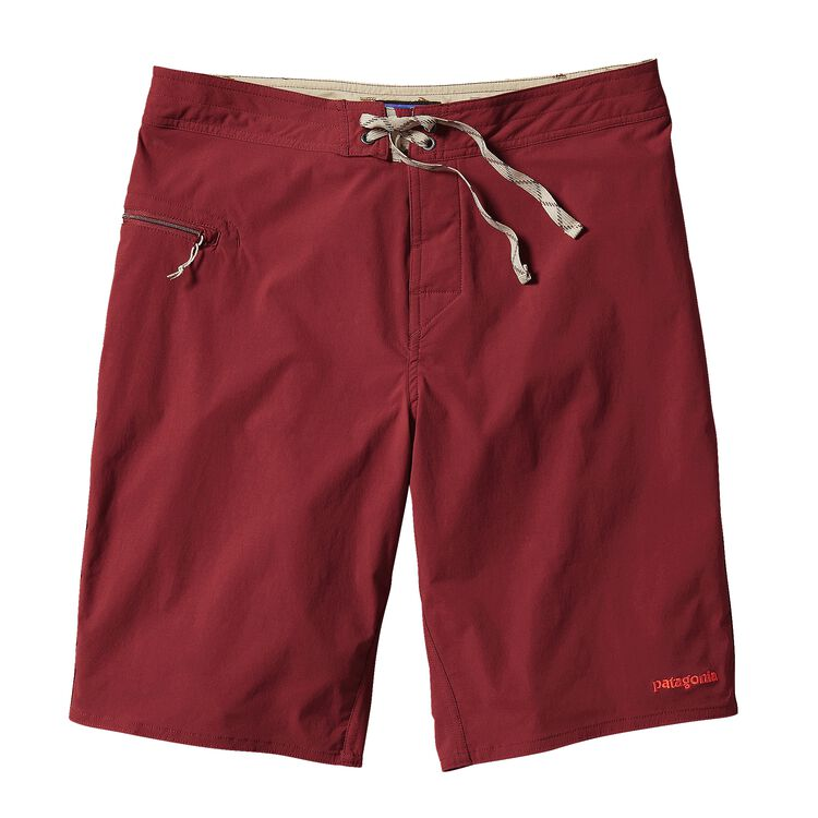 M'S STRETCH WAVEFARER BOARD SHORTS - 21, Drumfire Red (DRMF)