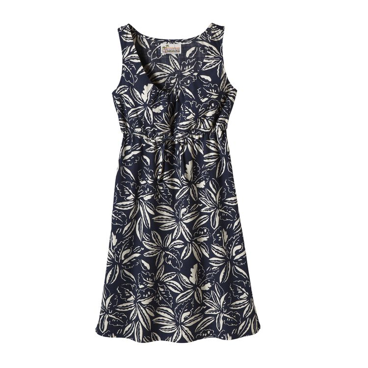 W'S LIMITED EDITION PATALOHA DRESS, Tropical: Navy Blue (TPNB)