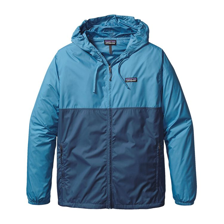 M'S LIGHT & VARIABLE HOODY, Glass Blue (GLSB)