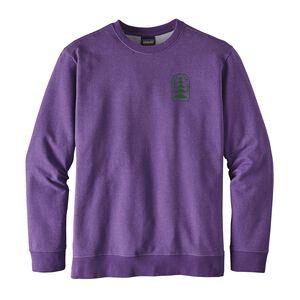 メンズ・オールド・グロウス・ミッドウェイト・クルー・スウェットシャツ, Purple (PUR)