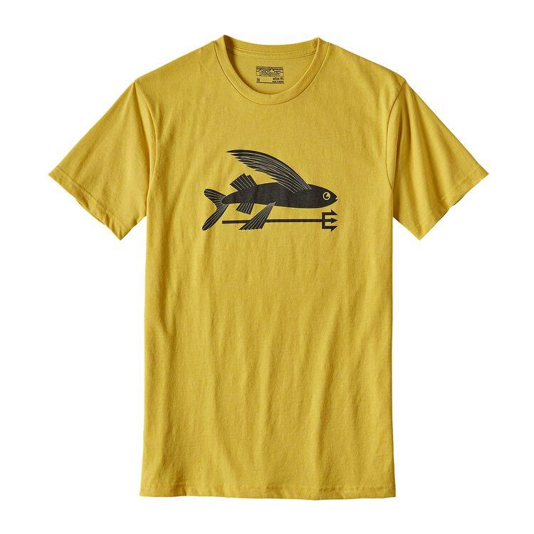 メンズ・フライング・フィッシュ・コットン/ポリ・Tシャツ, Chromatic Yellow (CYL)