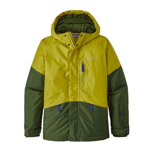 Boys' Fresh Tracks Jacket, Fluid Green (FLGR)