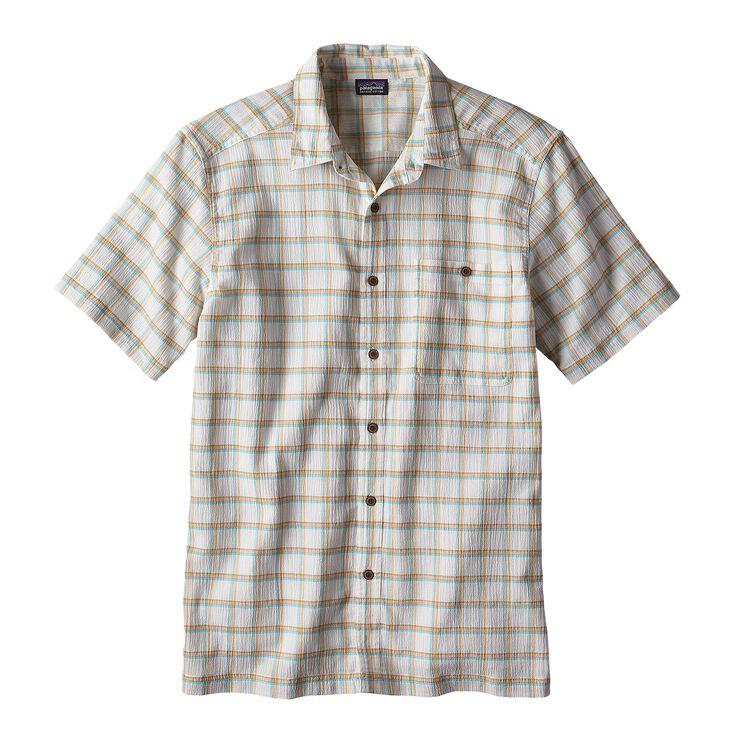 メンズ・A/Cシャツ, Adrift: Birch White (AFBW)