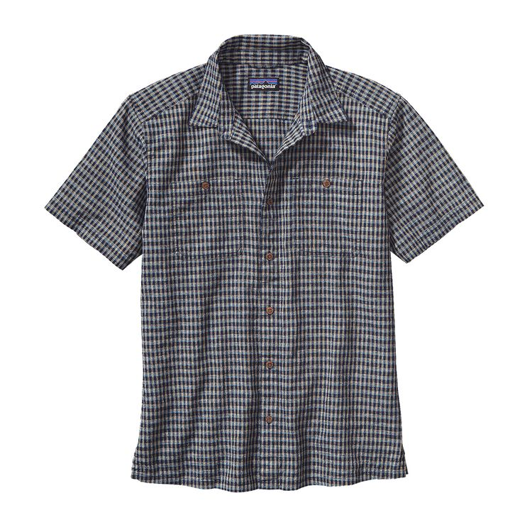M'S BACK STEP SHIRT, Berdoo: Navy Blue (BONV)