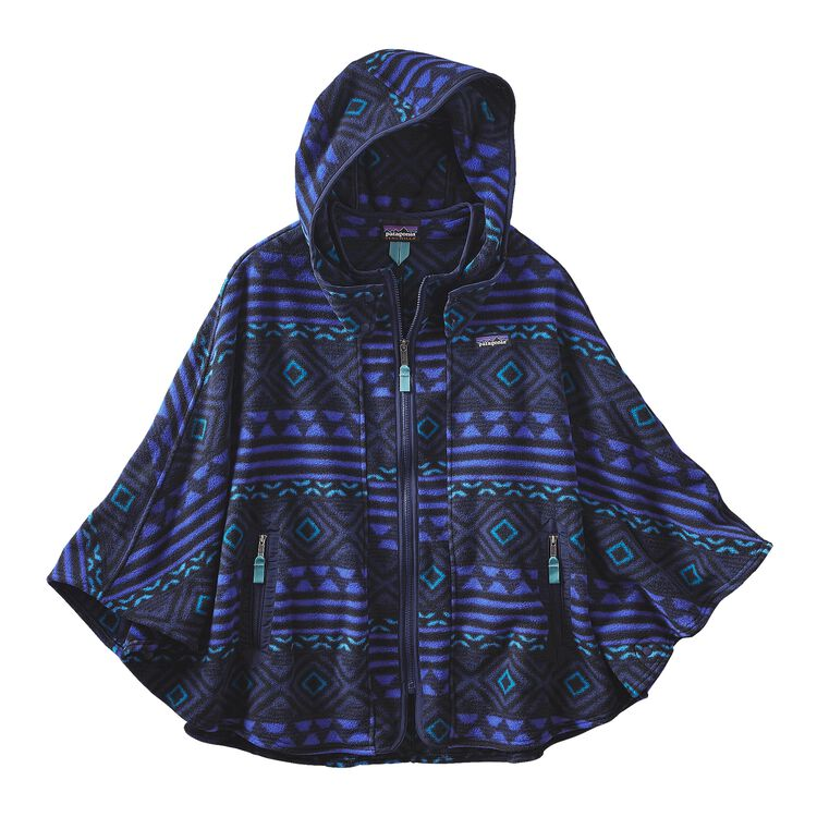 W'S LW SYNCH PONCHO, Saltillo: Navy Blue (SNVY)