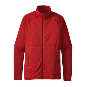 M'S R1 FULL-ZIP JKT, Ramble Red (RMBR)