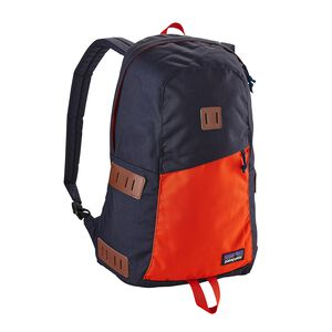 Ironwood Backpack 20L, Navy Blue w/Paintbrush Red (NPTR)