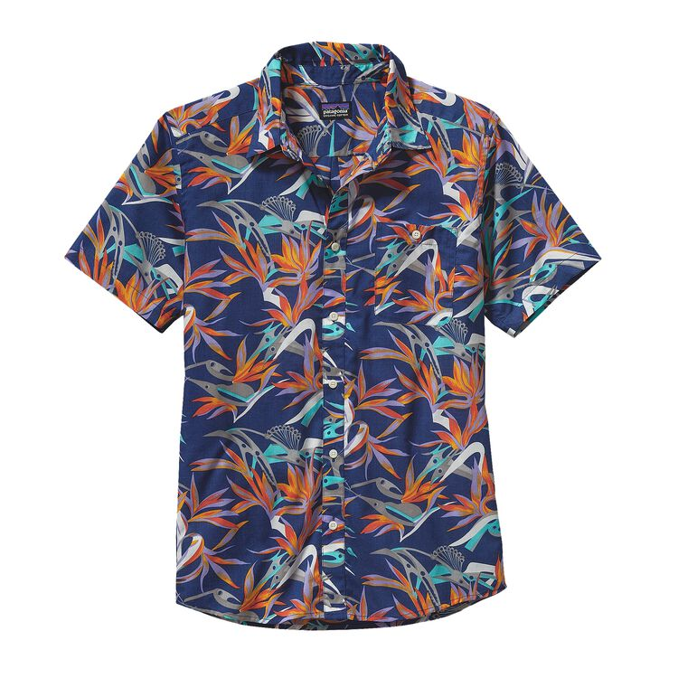 M'S GO TO SHIRT, Piton Paradise: Channel Blue (PPCB)