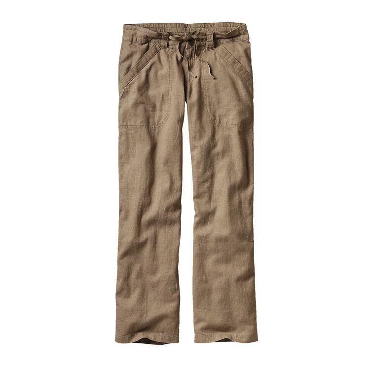 W'S ISLAND HEMP PANTS - SHORT, Ash Tan (ASHT)