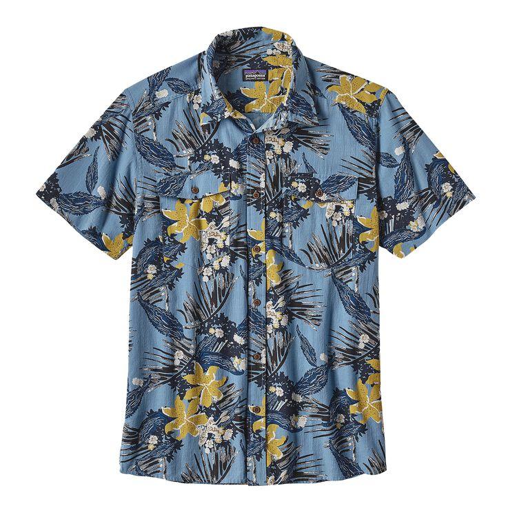 メンズ・ステアーズマン・シャツ, Kelp Garden: Navy Blue (KGNV)
