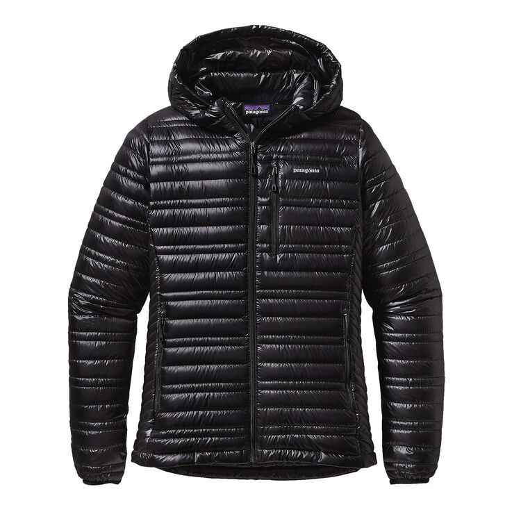 W'S ULTRALIGHT DOWN HOODY, Black (BLK)