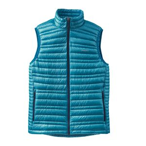 M'S ULTRALIGHT DOWN VEST, Grecian Blue (GCB)