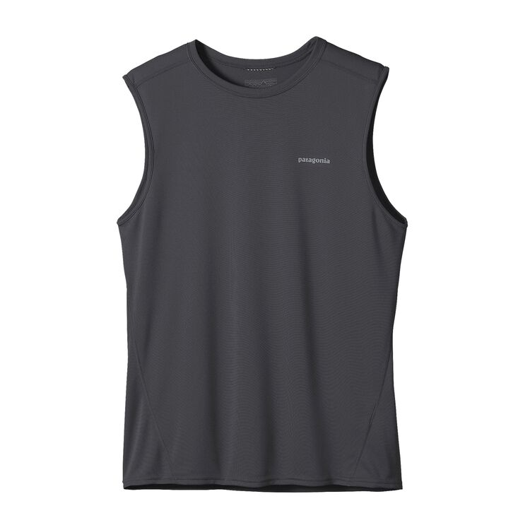 M'S FORE RUNNER SLEEVELESS, Forge Grey (FGE)