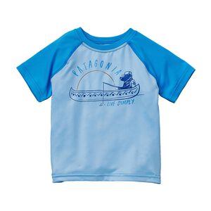 ベビー・キャプリーン・デイリー・Tシャツ, Lite Electron Blue (LECB)