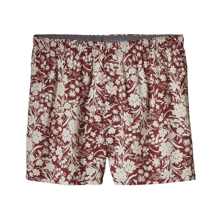 M'S GO-TO BOXERS, Free Lei: Drumfire Red/Birch White (FDBW)