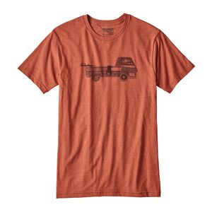 M's Pickup Lines Cotton/Poly T-Shirt, Roots Red (RTSR)