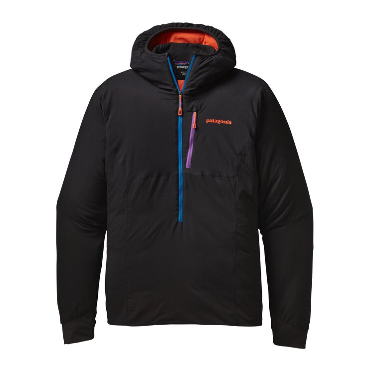M'S NANO-AIR LIGHT HOODY, Black (BLK)