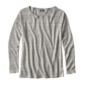 ウィメンズ・ライトウェイト・リネン・セーター, Tailored Grey (TGY)