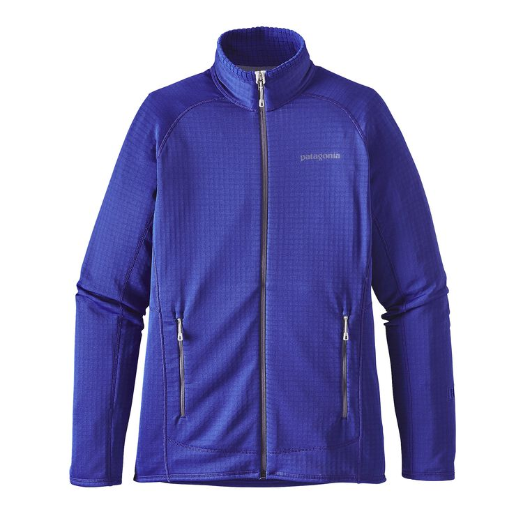 W'S R1 FULL-ZIP JKT, Harvest Moon Blue (HMB)