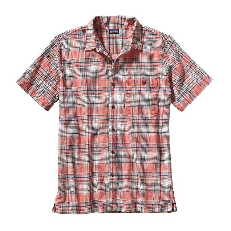 メンズ・A/Cシャツ, Santa Ana: Coral (SNCL-710)