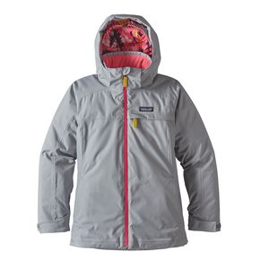 Girls' Insulated Snowbelle Jacket, Drifter Grey (DFTG)