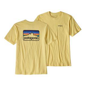 M'S LINE LOGO BADGE RESPONSIBILI-TEE, Crest Yellow (CSTY)