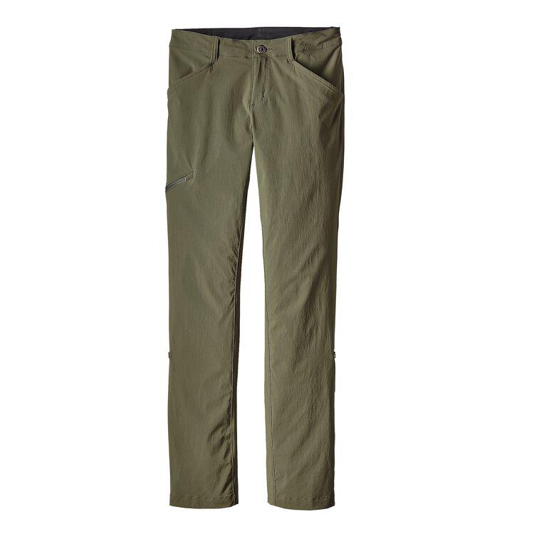 W'S QUANDARY PANTS - SHORT, Industrial Green (INDG)