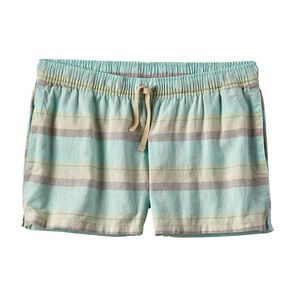 "W's Island Hemp Baggies™ Shorts - 3"", Shorelines Small: Bend Blue (SBND)"