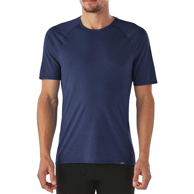 メンズ・メリノ・ライトウェイト・Tシャツ,