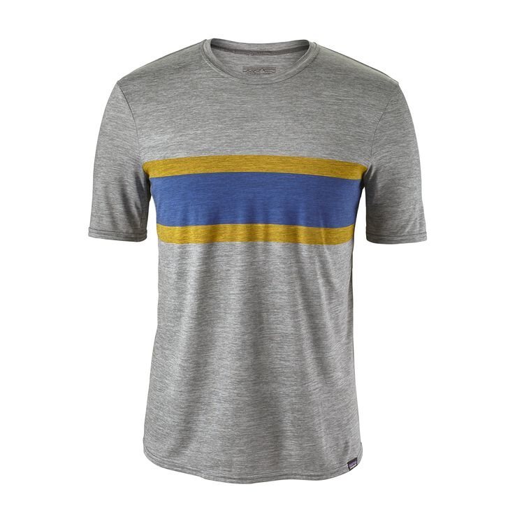 M'S CAP DAILY GRAPHIC T-SHIRT, Rugby Stripe: Feather Grey (RSFE)