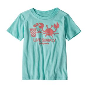 Baby Live Simply® Organic Cotton T-Shirt, Bend Blue (BNDB)